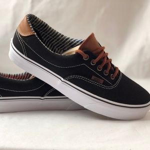 cb0156a6e868b0 ... Vans Men s Shoes Era 59 (C L) Black Stripe Denim.